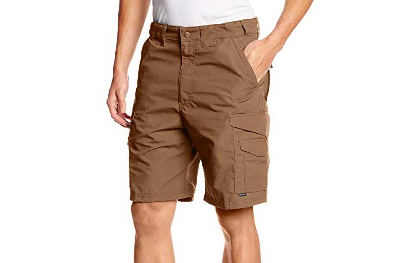 TRU-SPEC Men's 24-7 Polyester Cotton Rip-Stop 9-Inch Shorts