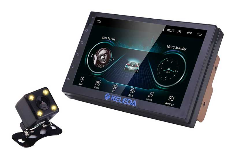 Keleda 7001 Android Double Din Car Stereo