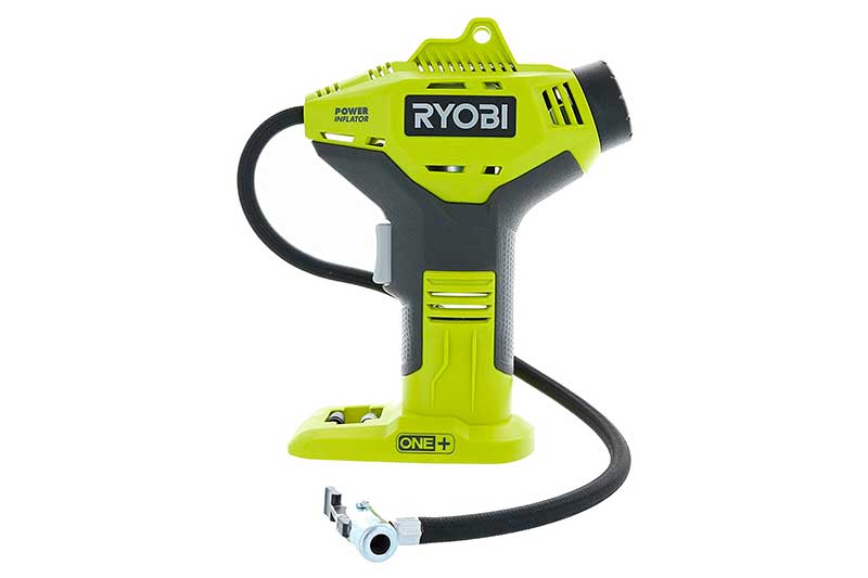 Ryobi P737 18-Volt ONE+ Portable Cordless Power Inflator for Tires