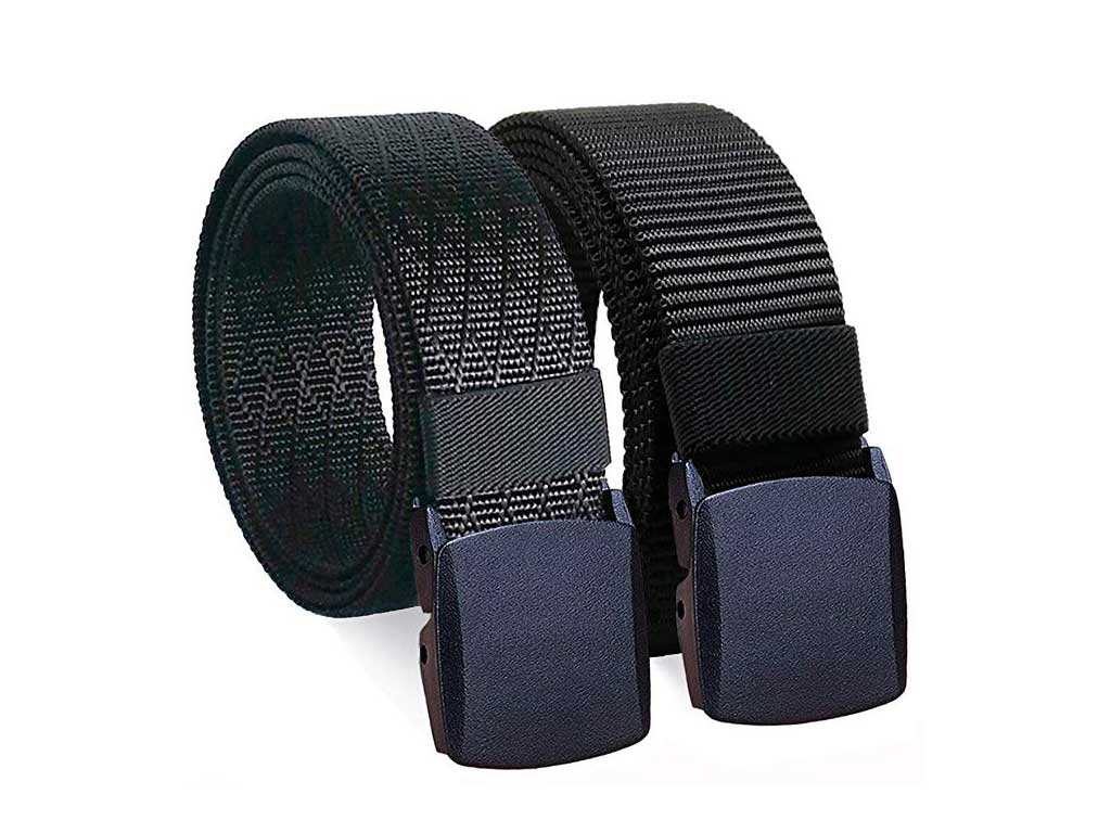 WYuZe 2 Pack Nylon Belt Outdoor Military Web Belt