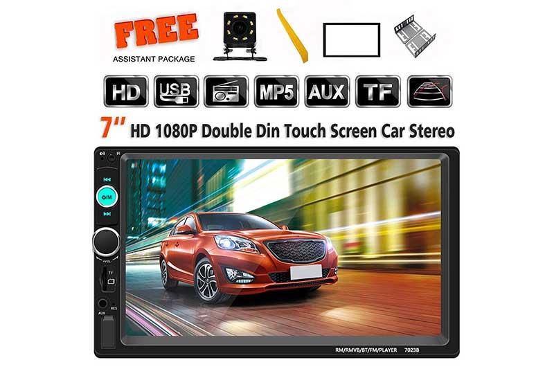 H*Sheng TPK Double Din Car Stereo