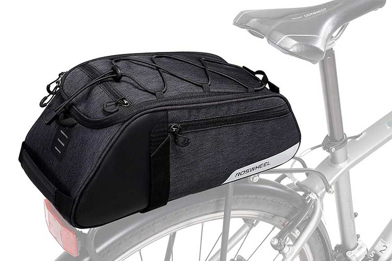 Roswheel Essential Series Convertible Bike Trunk Bag