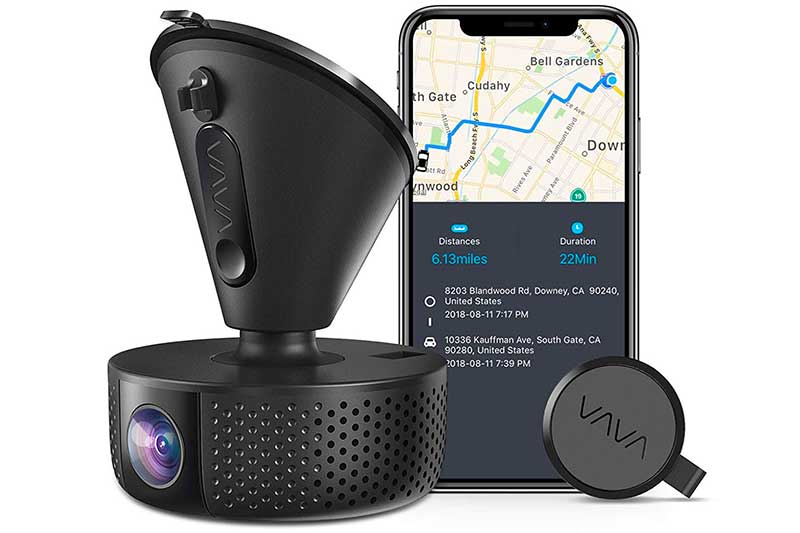 VAVA 1920x1080P@60fps Wi-Fi Car Dash Camera