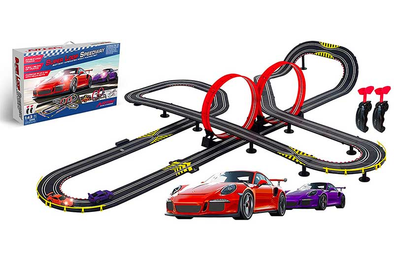 Artin Super Loop Speedway Slot Car Racing Set