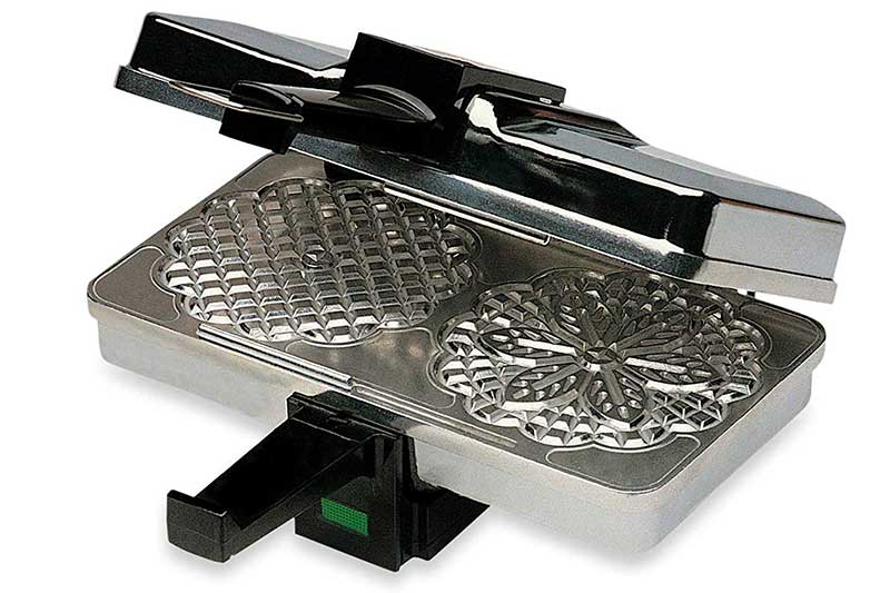 CucinaPro Polished Pizzelle Maker