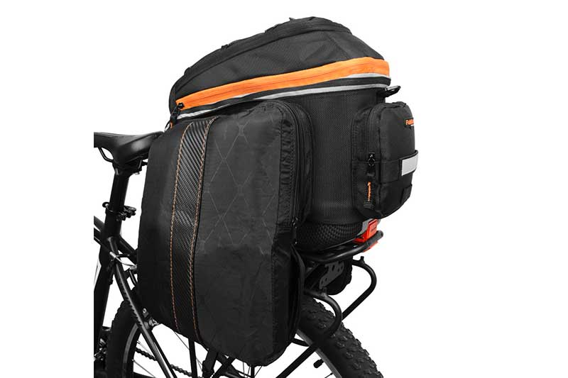 Ibera 2 in 1 PakRak Commuter Bicycle Trunk Bag