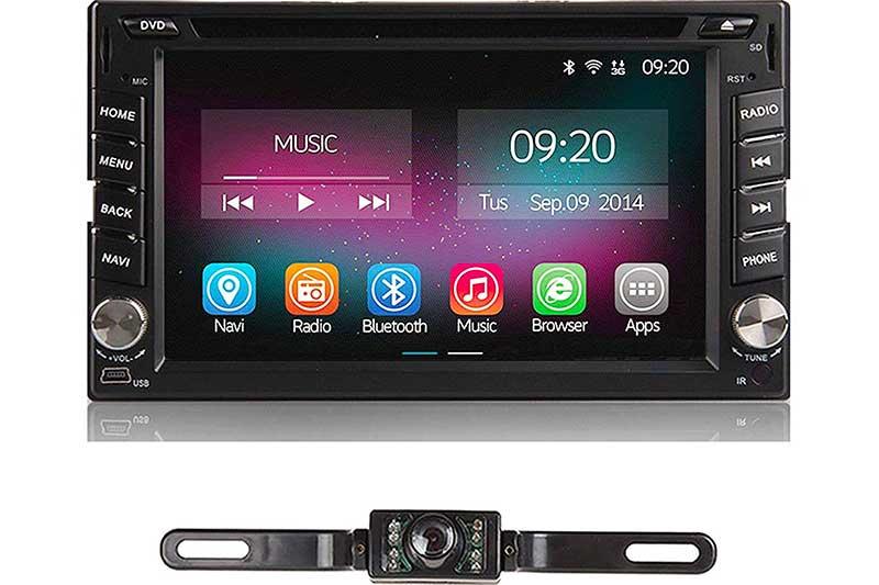TOCADO Car Stereo with Backup Camera