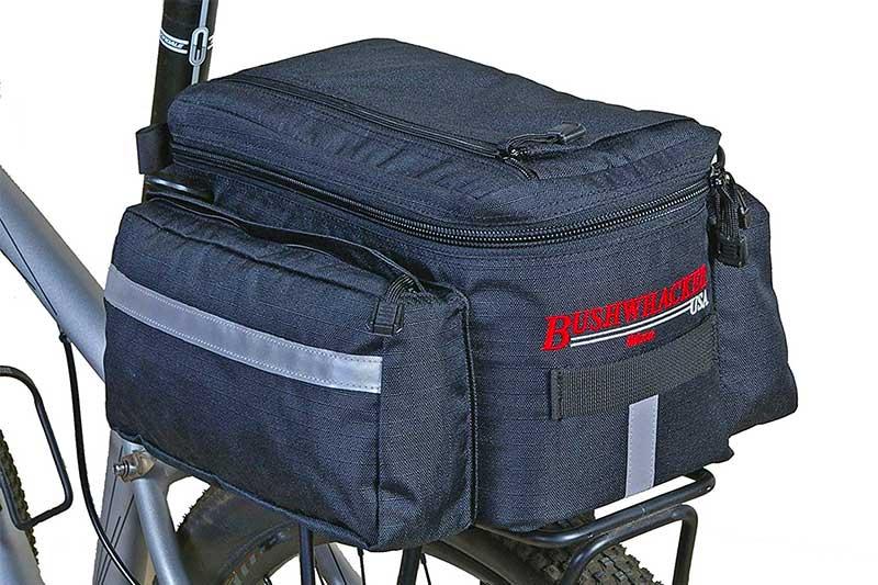 ROSWHEEL 141466 8L Bike Bicycle Waterproof Cycling Rear Rack Trunk Bag Pannier
