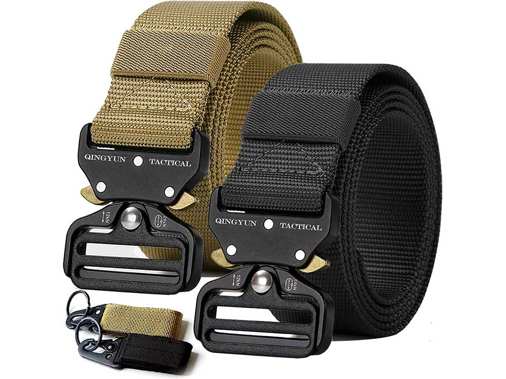 RONGQI 2Pack Tactical Belt