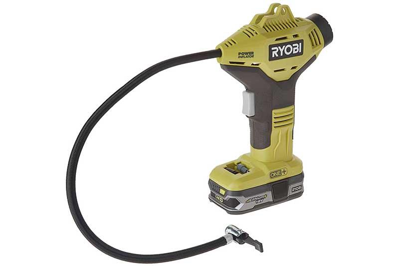 Ryobi P737+P107 ONE Plus Power Inflator