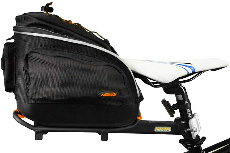 Ibera PakRak Quick-Release Commuter Bike Trunk Bag