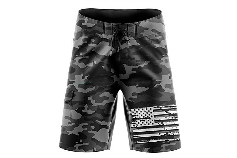 Tactical Pro Supply American Flag Board Shorts