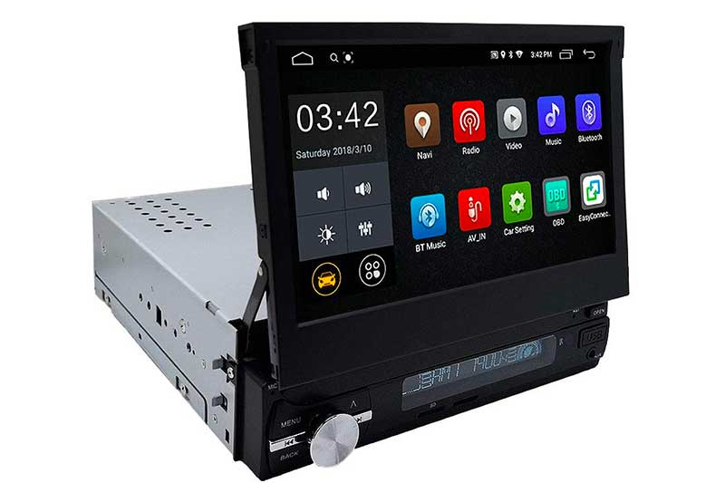 YODY Android 8.1 Single Din Car Stereo