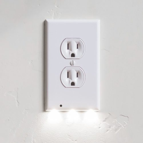 21 Pack SnapPower GuideLight - Outlet Wall Plate With LED Night Lights - FOR OUTLETS - (Duplex, White) Top 10 Best snappower guidelight in 2018 Reviews