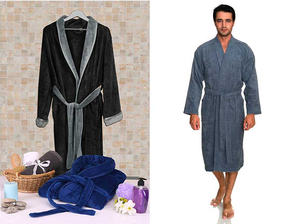 Top 10 Best Bathrobe for Men of 2019 Review