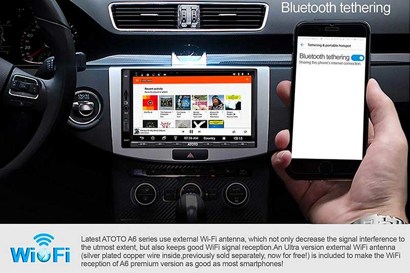 Top 10 Best Car Stereos With Bluetooth, GPS and Backup Camera of 2019 Review