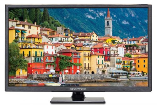 Sceptre 24-Inch LED HDTV E246BV-SR HDMI USB True Black