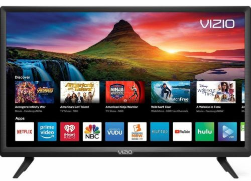 "VIZIO D-Series 24"" Class LED HDTV Smart TV - D24f-G9-24 inch TVs"