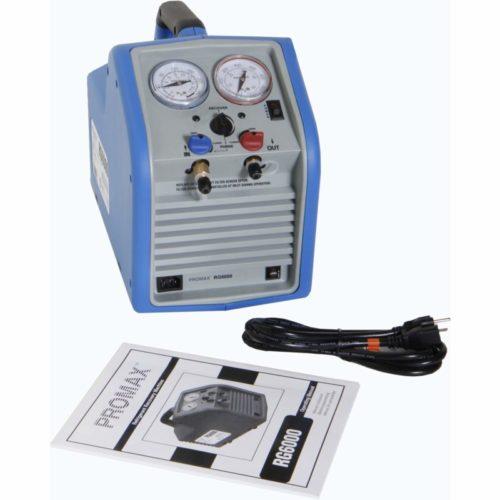 1. Robinair RG6 Portable Refrigerant Recovery Machine - 115V AC, 60 Hz