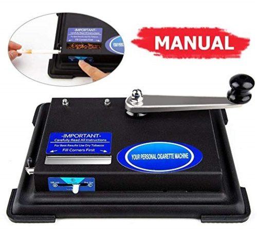 1. lcfun Rolling Machine,Hand Operation Roller Maker Injector Machine for King Size,100mm,Regular Tubes