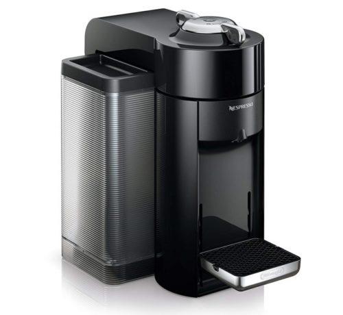 11. Nespresso by De'Longhi ENV135BAE Coffee and Espresso Machine Bundle with Aeroccino Milk Frother, Black