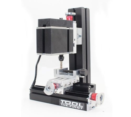 12. High Power Metal Mini Lathe DIY Micro Milling Machine Mill 12000rpm 60W with Adapter