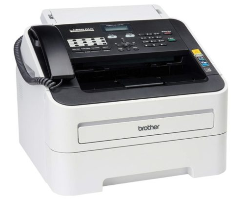 2. Brother FAX-2840 High Speed Mono Laser Fax Machine
