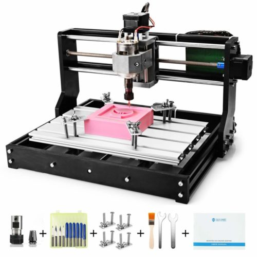 2. Genmitsu CNC 3018-PRO Router Kit GRBL Control 3 Axis Plastic Acrylic PCB PVC Wood Carving Milling Engraving Machine