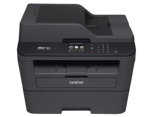 4. Brother Printer MFCL2740DW Wireless Monochrome Printer with Scanner, Copier & Fax (Renewed)