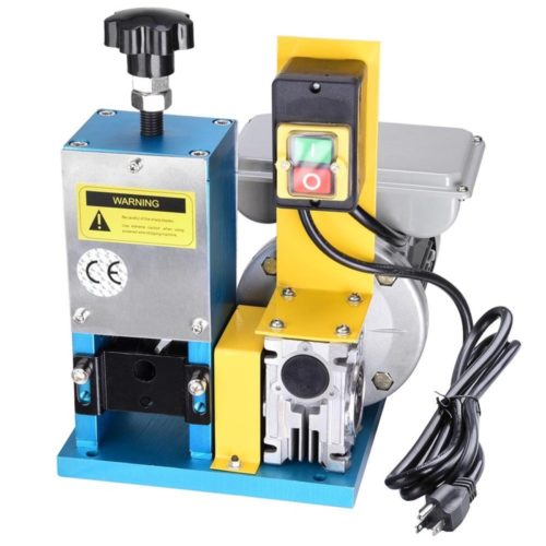 4. Yescom Electric Automatic Wire Stripping Machine Benchtop Powered Cable Stripper Tool