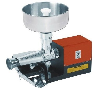 5. O.M.R.A. Home Tomato Electric Milling Machine 2400 by Aroma