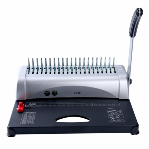 5. YaeKoo 21-Hole 450 Sheets Paper Comb Punch Binder Binding Machine Scrapbook