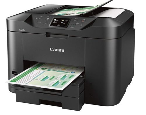 6. Canon Office and Business MB2720 Wireless All-in-one Printer, Scanner, Copier and Fax with Mobile and Duplex Printing
