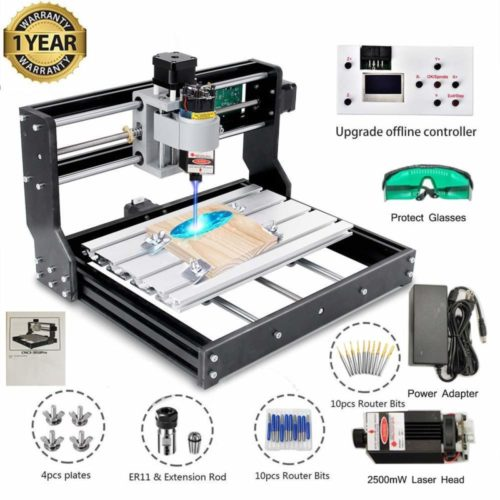 6. Upgrade Version CNC 3018 Pro GRBL Control DIY Mini CNC Machine, 3 Axis Pcb Milling Machine, Wood Router Engraver with Offline Controller
