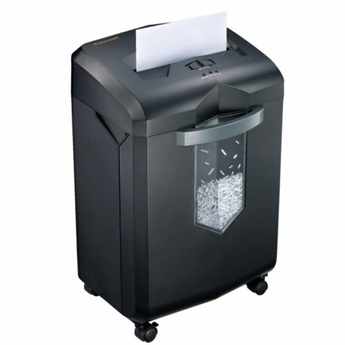7. Bonsaii EverShred C149-C 18-Sheet Heavy Duty Cross-Cut Paper,CD,Credit Card Shredder