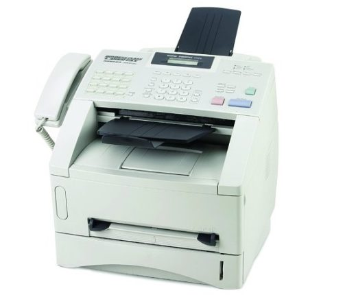 7. Brother FAX4100E IntelliFax Plain Paper Laser Fax,Copier