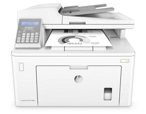 8. HP Laserjet Pro M148fdw All-in-One Wireless Monochrome Laser Printer with Auto Two-Sided Printing, Mobile Printing, Fax & Built-in Ethernet