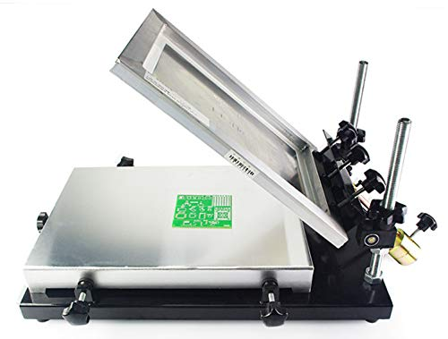 8. Hanchen PCB Stencil Printer, 32x44cm Silk Screen Printer Solder Paste Screening Printing Machine for SMT Production Machine CE