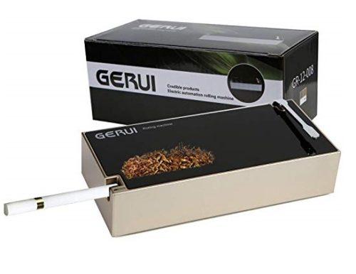 9. GERUI Electric Cigarette Rolling Machine Automatic Spoon Cigarette Inject Machine