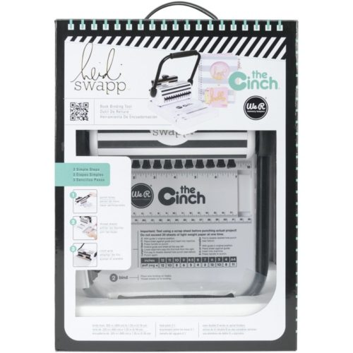 9. Heidi Swapp Cinch Book Binding Machine by We R Memory Keepers