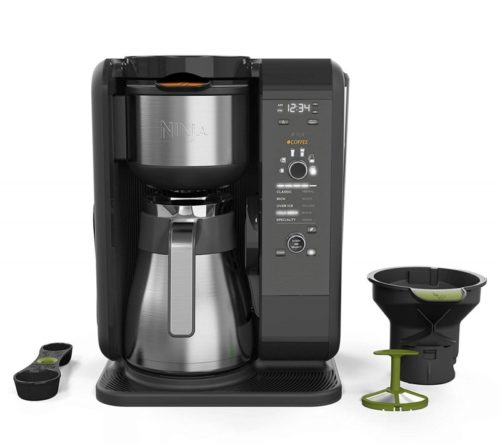 9. Ninja Hot and Cold Brewed System, Auto-iQ Tea and Coffee Maker with 6 Brew Sizes, 5 Brew Styles, Frother