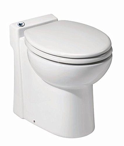 Saniflo 023 Sanicompact Self-Contained Toilet, White TOP 10 BEST TOILETS IN 2021 REVIEWS