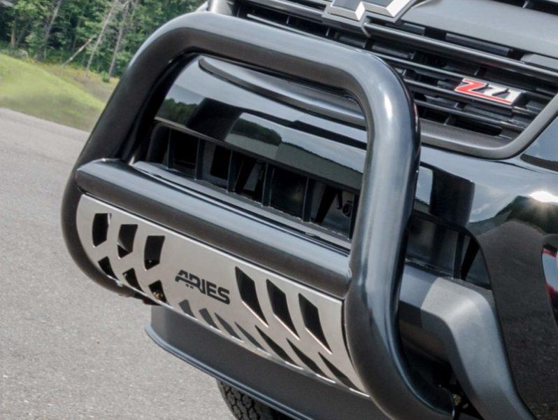 ARIES B35-2000 3-Inch Black Steel Bull Bar Select Toyota Tacoma