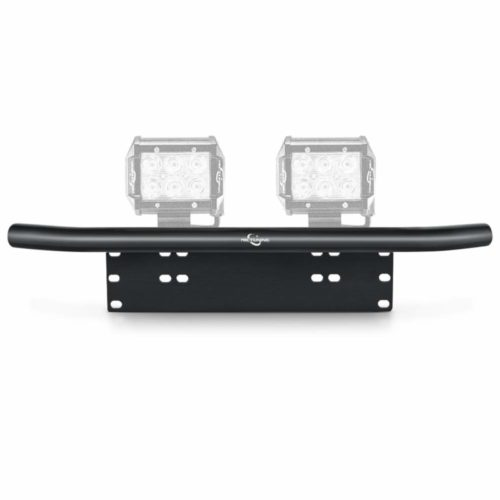 MICTUNING Universal License Plate Mounting Bracket Front Bull Bar Bumper for Off Road LED Work Light Bar TOP 10 BEST BULL BARS IN 2021 REVIEWS