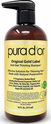 PURA D'OR Sulfate Free Dandruff Shampoo