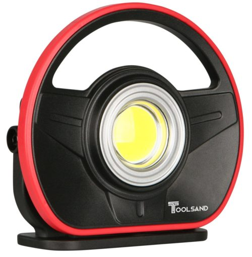 Toolsand Portable Cordless Rechargeable LED Worklight Floodlight
