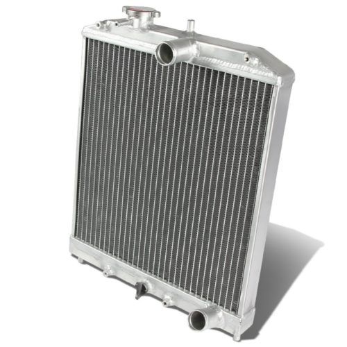 For Honda Civic Manual Transmission Full Aluminum 2-Row Racing Radiator - EJ EK EG DB DC