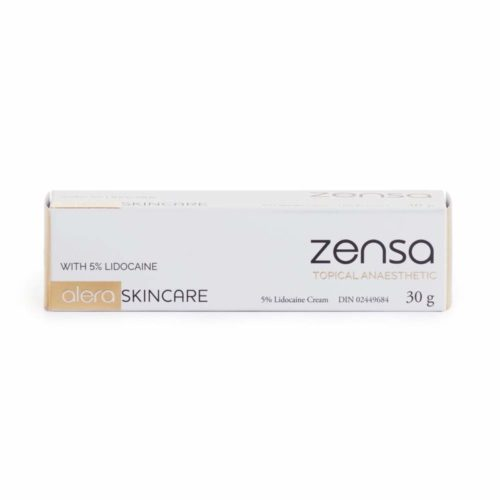 Zensa Numbing Cream 5% Lidocaine — Fast Acting Topical Anesthetic. Max Pain Relief. Tattoos, Piercings, Microblading, Permanent Makeup, Microneedling, Needles & Injections, Waxing, Electrolysis