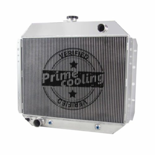 Primecooling 56MM 3 Row Core Aluminum Radiator for Ford F100 F150 F250 F350 Truck Pickup 1966-79 /Bronco V8 1978-79