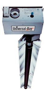 Universal Ray RH-75-20-P, Single Stage, Propane Gas, 75,000 BTU, 20 foot Emitter Tube, Highly Polished Reflectors, Black Coated Aluminized Steel Emitter Tubes,